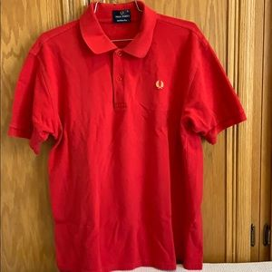 Fred Perry Red Polo XL